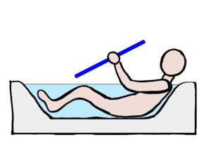 安心安全なバスルーム(風呂)の手すり